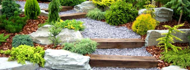 There are many ways to landscape, and not all involve doing a landscape garden  design